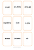 Spanish Daily Routine - Collocation Cards