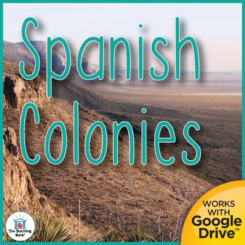 Spanish Colonies Interactive Notebook