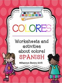 Colores - Spanish Color Unit