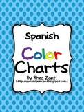 Spanish Color Charts for dual language
