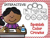 Coronas de colores:  Interactive Spanish Colors Crowns