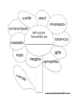 Spanish Color Flower