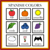 Spanish Color Objects Printables (PDF and PNG)