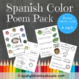 Spanish Color Poems and Videos