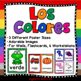 Spanish Color Posters: 3 Different Sizes - Los Colores - Colors in Spanish
