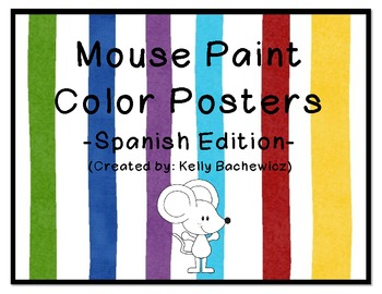 Spanish Color Posters (Mouse Paint)