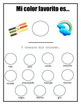 Los Colores - Spanish Color Review