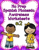 Spanish, Color, Search, Trace, Cut and Paste Worksheets #2