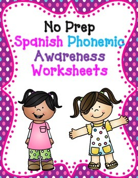 Spanish Color, Search, Trace, Cut and Paste Worksheets:  E