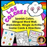 Spanish Worksheets - Colors