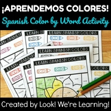Spanish Color Words Lesson: ¡Aprendemos Colores!