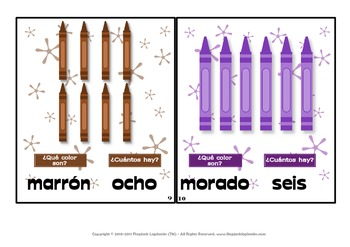Spanish Color Words MagnetMat Fun