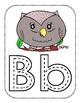 Spanish Colored Alphabet Playdough Mats