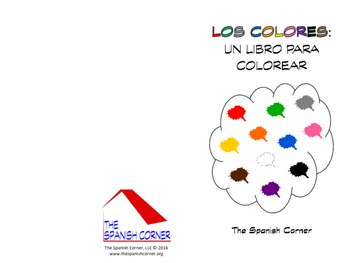 Spanish Coloring Book