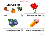 Spanish Colors 2 Emergent Reader Booklets