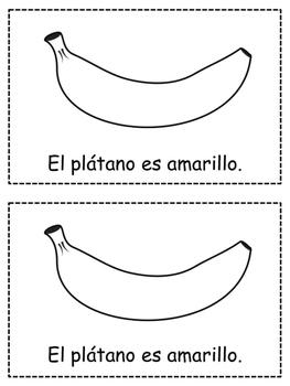 Spanish Colors {AMARILLO} Emergent Reader