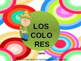 Spanish Colors Activity