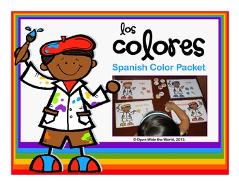 Spanish Colors Artist Packet