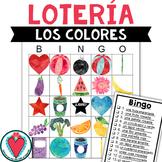 Spanish Colors - Vocabulary Building Bingo Game for Beginn