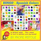 Spanish Colors Bingo!  Los Colores en español :)
