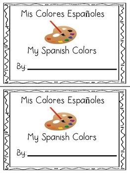 Spanish Colors Booklet