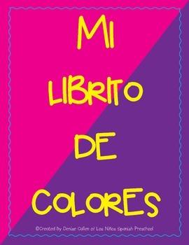 Spanish Colors Booklet/Mi librito de colores