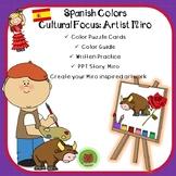 Spanish Colors- Colores en Espanol. Artista Miro