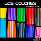Spanish Colors Coloring Activity