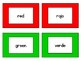 Spanish Color Concentration Matching Game