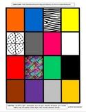 Spanish Colors Game Cards for Memory, Slap-jack, Go Fish, Etc.