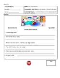 Spanish Colors Lesson Plan - Worksheets