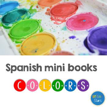 Spanish Colors Mini Books **50% off**