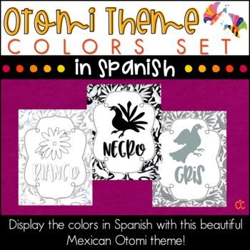 Spanish Colors - Otomi Theme