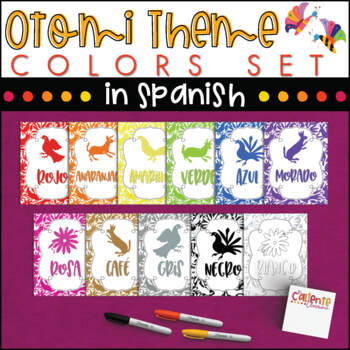 Spanish Colors - Otomi Theme