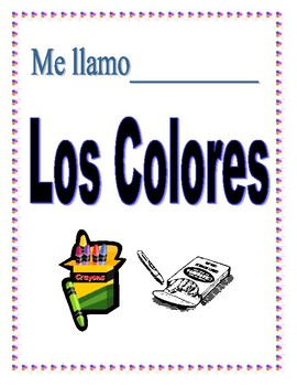 Spanish Colors Packet