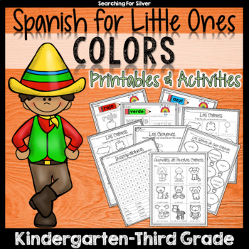 Spanish Colors Printables & Activities
