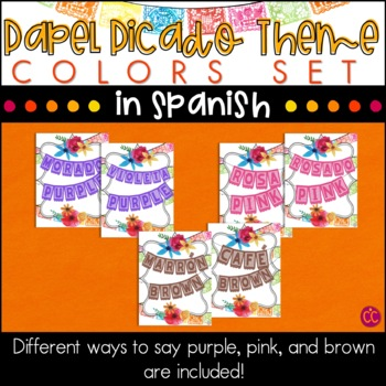 Spanish Colors - Papel Picado Theme