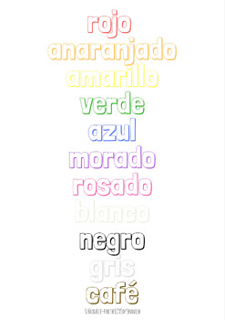Spanish Poster: Colors
