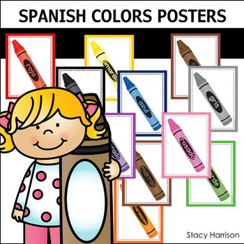 Spanish Colors Posters (Los Colores)
