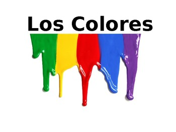Spanish Colors Power Point
