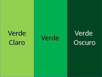 Spanish Colors Powerpoint (Basic & Advanced)