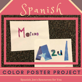 Spanish Colors Project - Editable