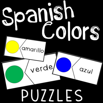 Spanish Colors Puzzle