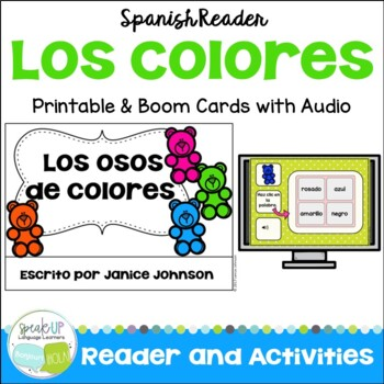 Spanish Colors Reader {Los osos de colores} ~ + BOOM™ Version with Audio