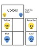 Spanish Colors Task Cards