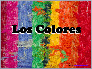 Spanish Colors - With 50 Culturally Relevant Photos