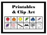 Spanish Colors Printables