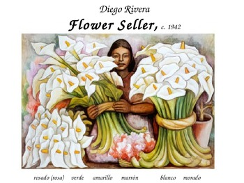 Spanish Colors and Diego Rivera