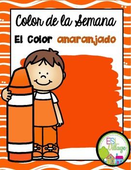 El color anaranjado