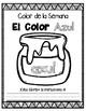 In Spanish   Blue {el color azul}